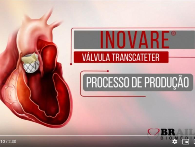 Inovare® Válvula Transcateter - Processo de Produção (Clique aqui)