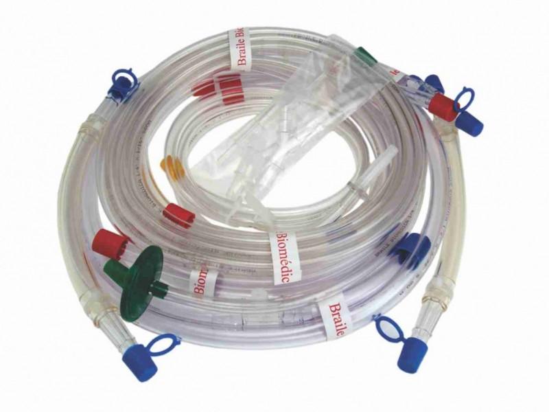 Conjunto de Tubos para Circulação Extracorpórea