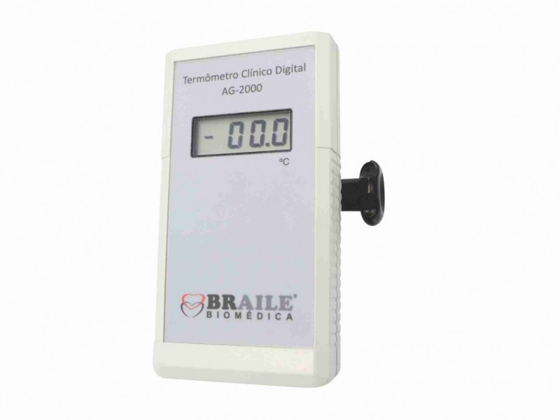 Termômetro Clínico Digital AG-2000