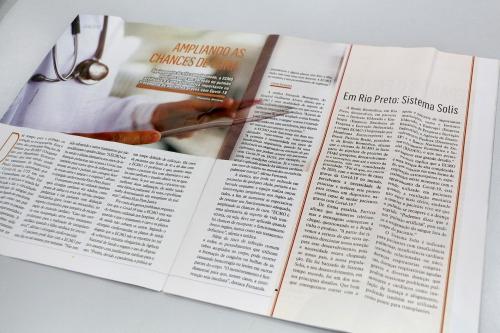 Ampliando chances de cura - Sistema Solis na Revista Bem estar