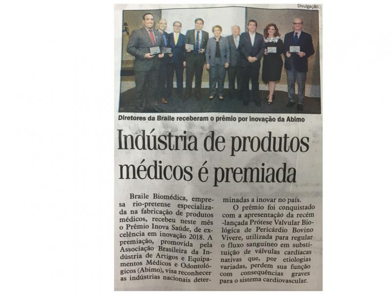 Braile é destaque no Jornal Diário da Região