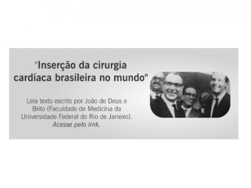 Confira: Inserção da Cirurgia Cardíaca Brasileira no Mundo