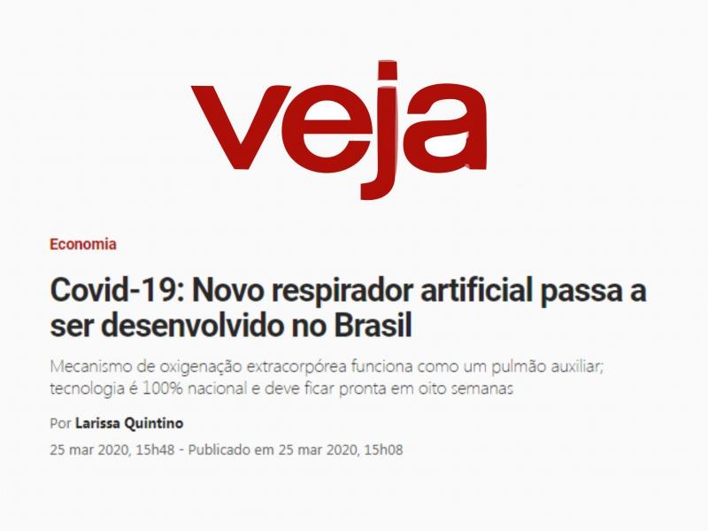 Covid-19: Novo respirador artificial passa a ser desenvolvido no Brasil