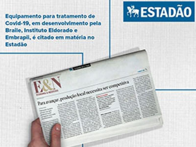 ESTADÃO: produto em desenvolvimento é citado em matéria do jornal