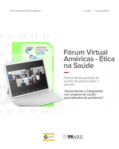 Fórum Virtual Américas Ética na Saúde