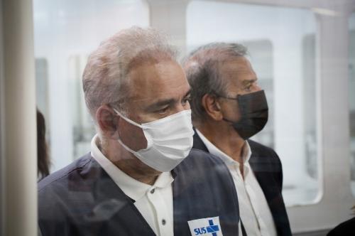 Ministro da Saúde Visita a Braile Biomédica