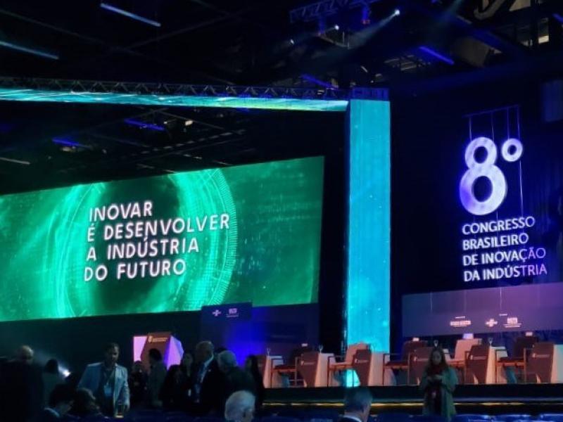 Projeto inédito da Braile Biomédica é apresentado no 8º Congresso Brasileiro de Inovação da Indústria!