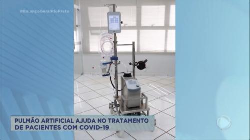 Pulmão artificial no combate a Covid-19 - Record TV
