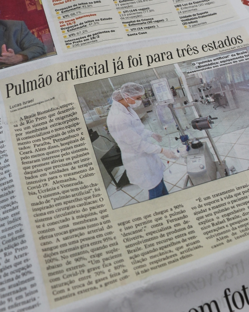 Sistema Solis é notícia no Diário da Região!