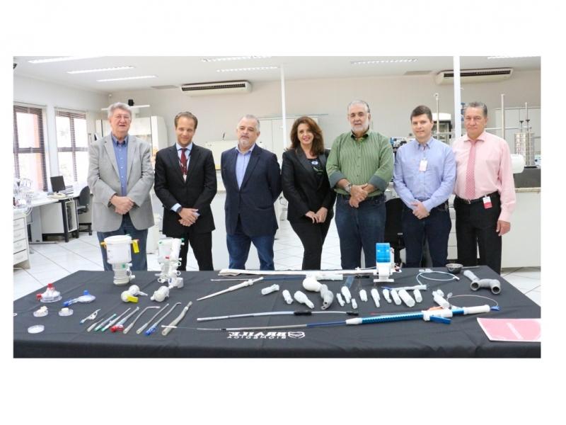 Vice-Governador de São Paulo visita a Braile Biomédica
