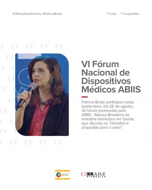 VI Fórum Nacional de Dispositivos Médicos ABIIS
