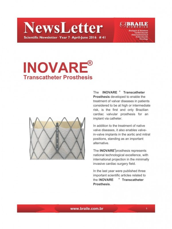 Inovare® Transcatheter Prosthesis
